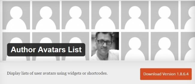 Author Avatars List/Block