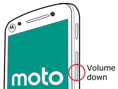 Phone Volume Down Button